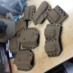 M&P Scorched Earth Holsters and mag combos.